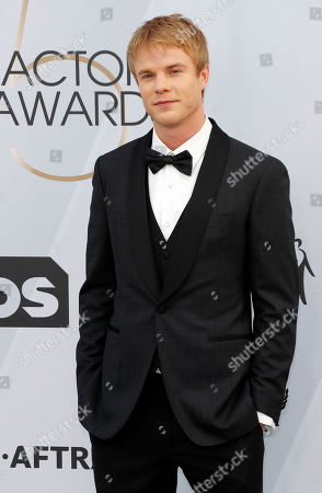Graham Rogers arrives for the 25th annual Screen Actors Guild Awards ceremony at the Shrine Auditorium in Los Angeles, California, USA, 27 January 2019.