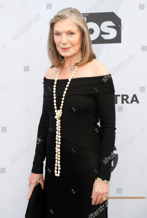 Susan Sullivan arrives for the 25th annual Screen Actors Guild Awards ceremony at the Shrine Auditorium in Los Angeles, California, USA, 27 January 2019.