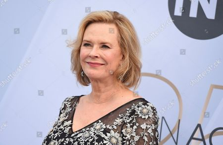 SAG-AFTRA Foundation President JoBeth Williams arrives at the 25th annual Screen Actors Guild Awards at the Shrine Auditorium & Expo Hall, in Los Angeles