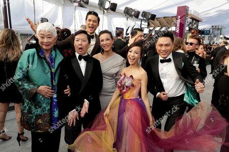 Lisa Lu, Ken Jeong, Harry Shum Jr., Tan Kheng Hua, Fiona Xie, Jon M. Chu