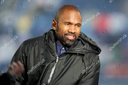 ESPN insider Charles Woodson is seen at the NFL Pro Bowl football game, in Orlando, FL