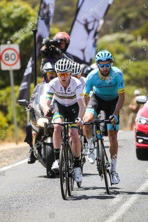 Laurens De Vreese (Astana Pro Team) and Nathan ELLIOTT (AUS) (CYCLING-KORDAMENTHA)