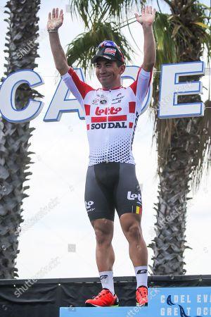 Caleb EWAN (AUS) of LOTTO SOUDAL (LTS) after finishing 2nd