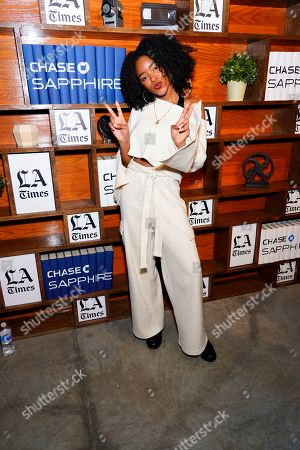 Lovie Simone at LA Times Studio at Sundance Film Festival presented by Chase Sapphire, in Park City, Utah