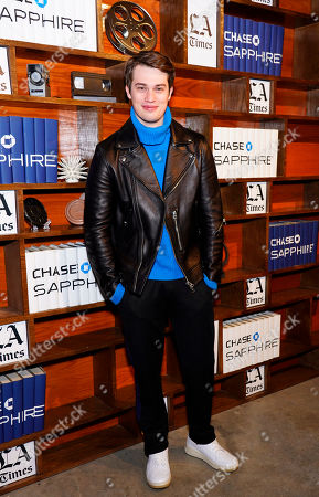 Nicholas Galitzine at the LA Times Studio at Sundance Film Festival presented by Chase Sapphire, in Park City, Utah