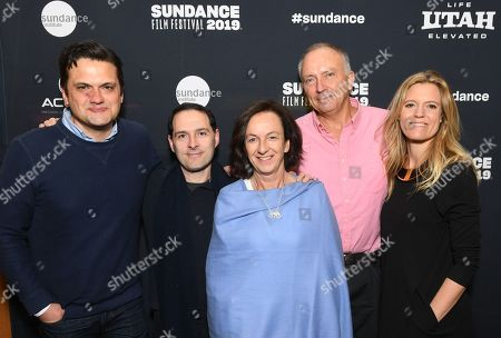 Matt Dentler, Head of Feature Acquisition, Worldwide Video, Apple, Alex Heffes, Composer, Victoria Stone, Director, Mark Deeble, Writer/Director, Lucinda Englehart, Producer