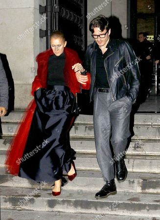 Celine Dion and Pepe Munoz at 'La Girafe'