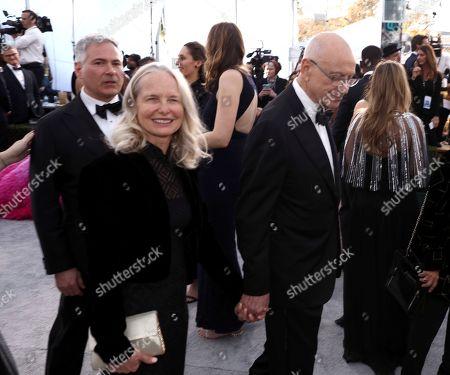 Suzanne Newlander Arkin, Alan Arkin. Alan Arkin, right, and Suzanne Newlander Arkin arrive at the 25th annual Screen Actors Guild Awards at the Shrine Auditorium & Expo Hall, in Los Angeles