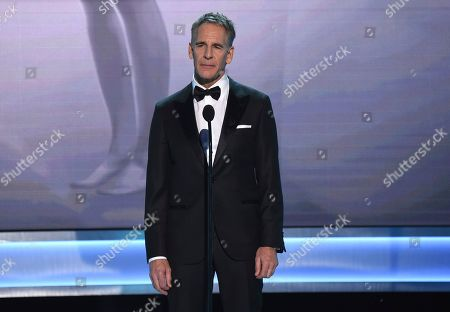 Scott Bakula introduces an In Memoriam tribute at the 25th annual Screen Actors Guild Awards at the Shrine Auditorium & Expo Hall, in Los Angeles