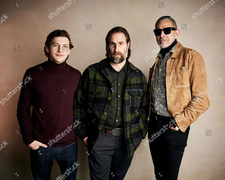Tye Sheridan, Rick Alverson, Jeff Goldblum. Tye Sheridan, from left, writer/director Rick Alverson and Jeff Goldblum