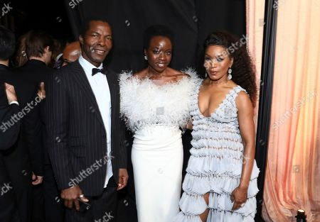 Angela Bassett, Danai Gurira, Isaach de Bankole. Isaach de Bankole, from left, Danai Gurira and Angela Bassett attend the 25th annual Screen Actors Guild Awards at the Shrine Auditorium & Expo Hall, in Los Angeles
