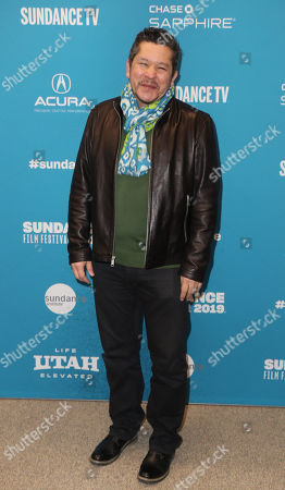 Paul Mayeda Berges arrives for the premiere of 'Blinded By The Light' at the 2019 Sundance Film Festival in Park City, Utah, USA, 27 January 2019. The festival runs from 24 January to 02 February 2019.