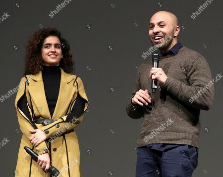 Sanya Molhotra and Director Ritesh Batra