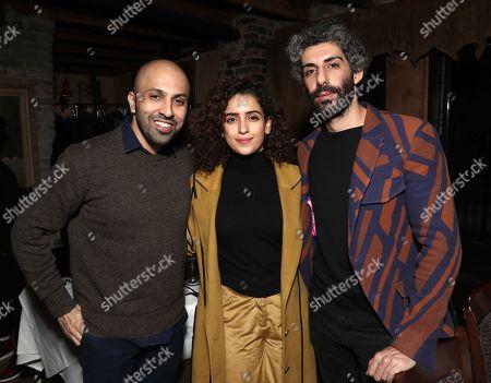 Director Ritesh Batra, Sanya Molhotra and Jim Sarbh