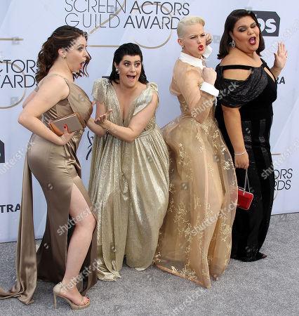 Rebekka Johnson, Rachel Bloom, Kimmy Gatewood, Britney Young