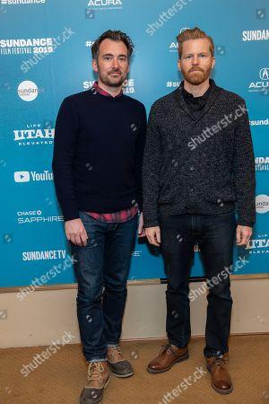 Rhys Thomas and Alex Buono