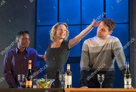 Tyrone Huntley as Obi, Johanne Murdock as Diane, Billy Cullum as Alex