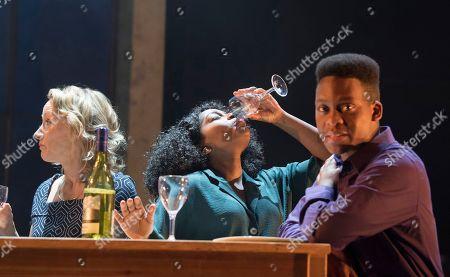 Johanne Murdock as Diane, Aretha Ayeh as Chichi, Tyrone Huntley as Obi,