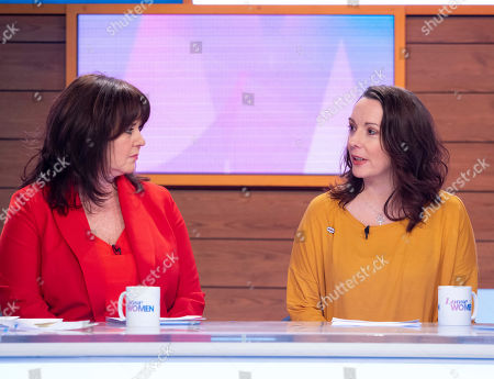 Stock Photo of Coleen Nolan, Delphi Ellis