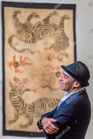 Editorial picture of Tomorrow's Tigers exhibition, Sothebys, London, UK - 28 Jan 2019