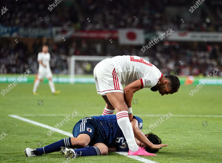 Editorial picture of AFC Asian Cup Football Iran v Japan, Abu Dhabi, USA - 28 Jan 2019