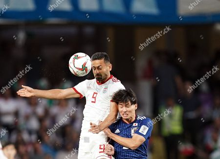 Editorial image of AFC Asian Cup Football Iran v Japan, Abu Dhabi, USA - 28 Jan 2019