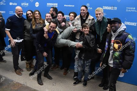 Stock Photo of Jon Cryer, Julia Murney, Brielle Barbusca, Griffin Gluck, Thomas Barbusca, Pete Davidson, Machine Gun Kelly and Sydney Sweeney and Sydney Sweeney