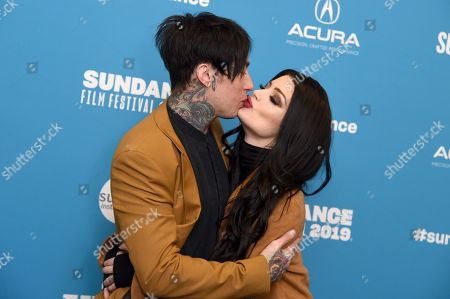 Ronnie Radke and Paige