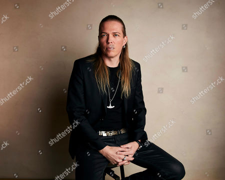 """Eicca Toppinen poses for a portrait to promote the film """"Aquarela"""" at the Salesforce Music Lodge during the Sundance Film Festival, in Park City, Utah"""