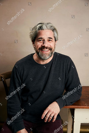 """Ross Kauffman poses for a portrait to promote the film """"Tigerland"""" at the Salesforce Music Lodge during the Sundance Film Festival, in Park City, Utah"""