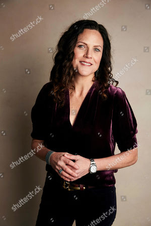 """Stock Picture of Irene Taylor Brodsky poses for a portrait to promote the film """"Moonlight Sonata: Deafness in Three Movements"""" at the Salesforce Music Lodge during the Sundance Film Festival, in Park City, Utah"""