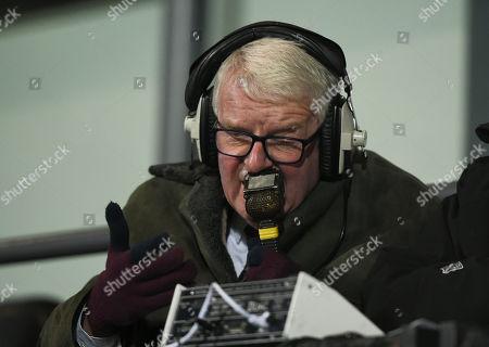 Radio Commentator John Motson