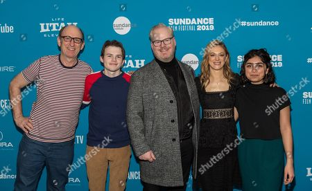 Stock Photo of David Cale, Josh Wiggins, Jim Gaffigan, Marin Ireland and Atheena Frizzell