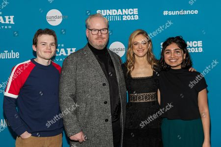 Josh Wiggins, Jim Gaffigan, Marin Ireland and Atheena Frizzell