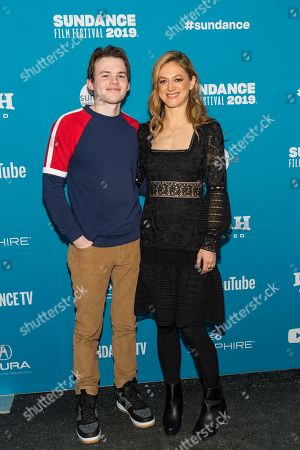 Josh Wiggins and Marin Ireland