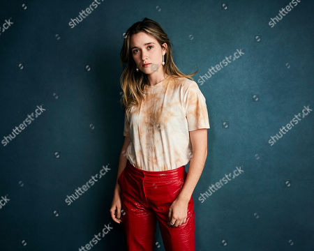 "Alice Englert poses for a portrait to promote the film ""Them That Follow"" at the Salesforce Music Lodge during the Sundance Film Festival, in Park City, Utah"