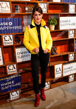 Mary Holland at LA Times Studio at Sundance Film Festival presented by Chase Sapphire, in Park City, Utah
