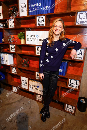 Marin Ireland at LA Times Studio at Sundance Film Festival presented by Chase Sapphire, in Park City, Utah
