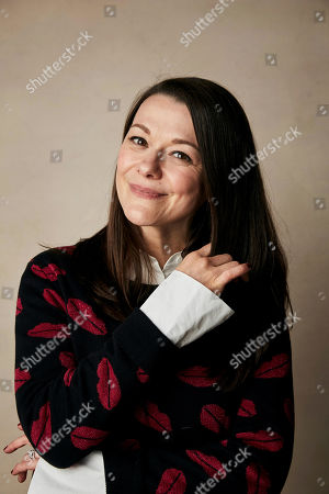 """Maribeth Monroe poses for a portrait to promote the film """"Bootstrapped"""" at the Salesforce Music Lodge during the Sundance Film Festival, in Park City, Utah"""