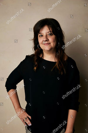 "Stephanie Laing poses for a portrait to promote the film ""Bootstrapped"" at the Salesforce Music Lodge during the Sundance Film Festival, in Park City, Utah"