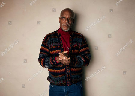 """Stock Image of Stanley Nelson poses for a portrait to promote the film """"Miles Davis: Birth of the Cool"""" at the Salesforce Music Lodge during the Sundance Film Festival, in Park City, Utah"""