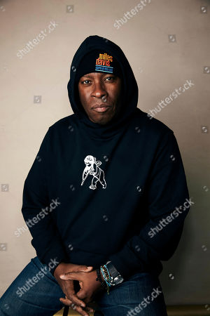 "Vince Wilburn, Jr. poses for a portrait to promote the film ""Miles Davis: Birth of the Cool"" at the Salesforce Music Lodge during the Sundance Film Festival, in Park City, Utah"