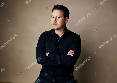 """Corey Reeser poses for a portrait to promote the film Where's My Roy Cohn?"""" at the Salesforce Music Lodge during the Sundance Film Festival, in Park City, Utah"""