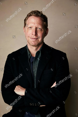 """Matt Tyrnauer poses for a portrait to promote the film Where's My Roy Cohn?"""" at the Salesforce Music Lodge during the Sundance Film Festival, in Park City, Utah"""