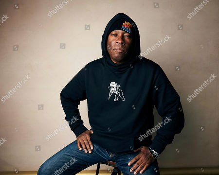 "Vince Wilburn Jr. poses for a portrait to promote the film ""Miles Davis: Birth of the Cool"" at the Salesforce Music Lodge during the Sundance Film Festival, in Park City, Utah"
