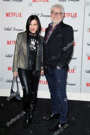 Alina Foley and Dave Foley