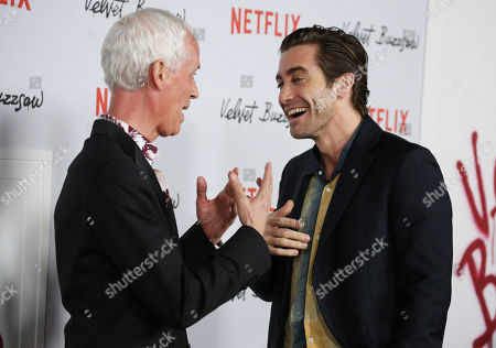 Stock Image of Dan Gilroy and Jake Gyllenhaal