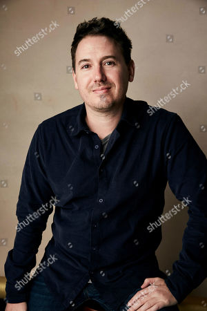 """Corey Reeser poses for a portrait to promote the film """"Where's My Roy Cohn?"""" at the Salesforce Music Lodge during the Sundance Film Festival, in Park City, Utah"""