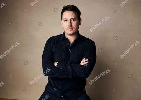 """Stock Photo of Corey Reeser poses for a portrait to promote the film """"Where's My Roy Cohn?"""" at the Salesforce Music Lodge during the Sundance Film Festival, in Park City, Utah"""