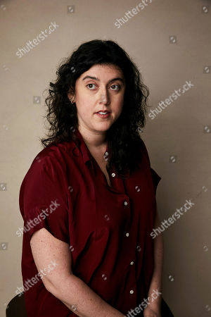 """Stock Picture of Alison Klayman poses for a portrait to promote the film """"The Brink"""" at the Salesforce Music Lodge during the Sundance Film Festival, in Park City, Utah"""